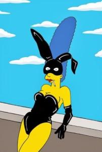 Marge fotografata da Helmut Newton. by aleXsandro Palombo -blog Humor Chic-